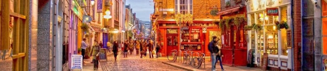 Sightseeing, uitgaan en shoppen in Dublin